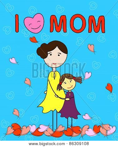 l love mom
