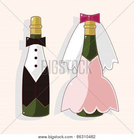 Champagne Theme Elements