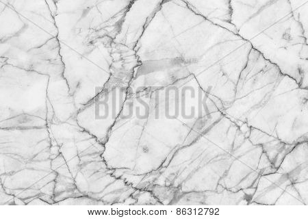 White marble patterned texture background.