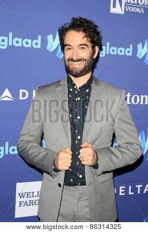 LOS ANGELES - MAR 21:  Jay Duplass at the 26th Annual GLAAD Media Awards at the Beverly Hilton Hotel on March 21, 2015 in Beverly Hills, CA