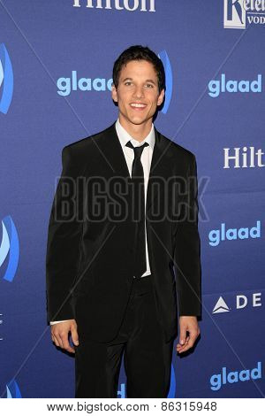 LOS ANGELES - MAR 21:  Mike C. Manning at the 26th Annual GLAAD Media Awards at the Beverly Hilton Hotel on March 21, 2015 in Beverly Hills, CA