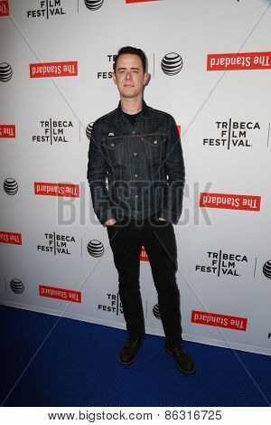 LOS ANGELES - MAR 23:  Colin Hanks at the 2015 Tribeca Film Festival Official Kick-off Party at the The Standard on March 23, 2015 in West Hollywood, CA
