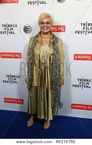 LOS ANGELES - MAR 23:  Roseanne Barr at the 2015 Tribeca Film Festival Official Kick-off Party at the The Standard on March 23, 2015 in West Hollywood, CA