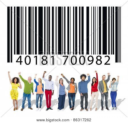 Barcode Marketing Identity Concept