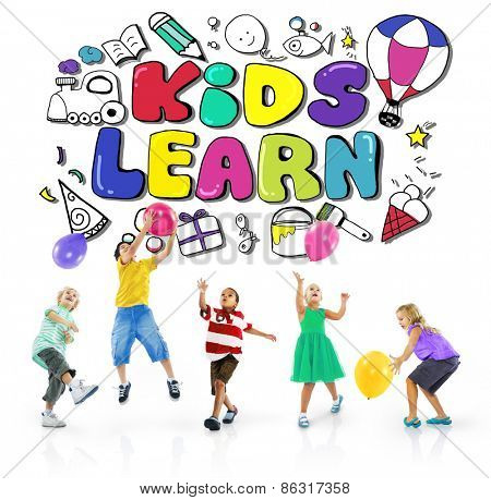 Kids Learn Education Creativity Children Ideas Concept