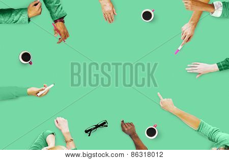 Group of People Brainstorming Meeting Discussion Concept