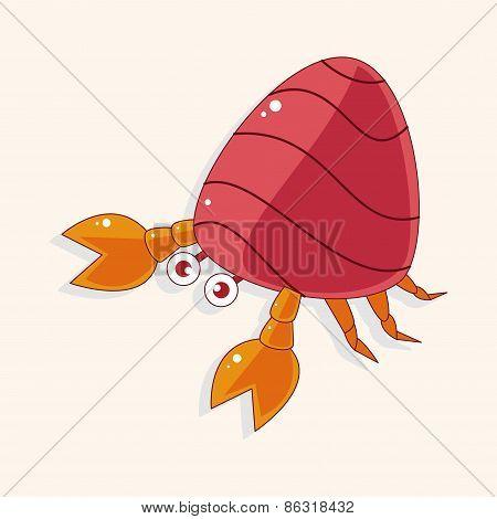 Hermit Crabs Theme Elements