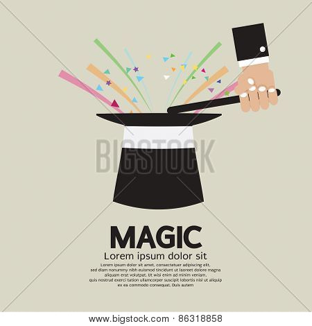 Magic Trick Of The Magician.