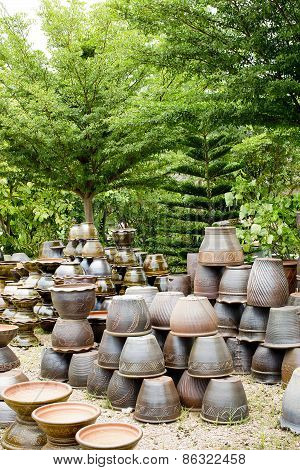 Thai Earthenware Pot