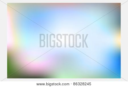abstract colorful blur Background.