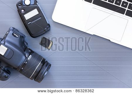 Photographer Desk.