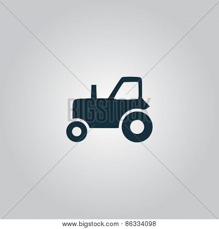 Tractor vector icon