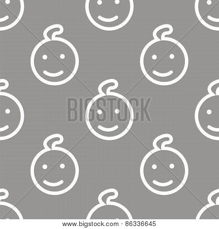 Kid seamless pattern