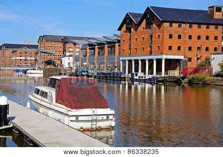 Glooucester Docks Warehouses.