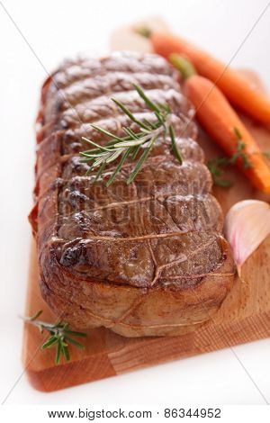 roasted beef fillet