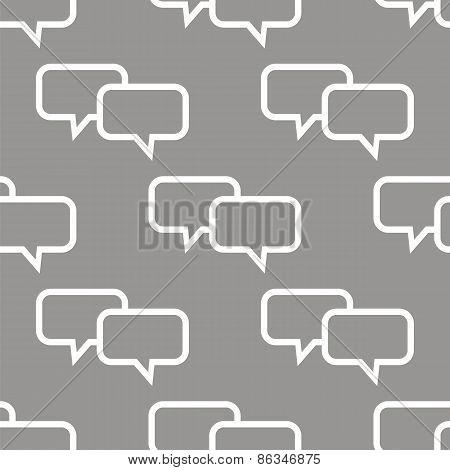 Dialog seamless pattern