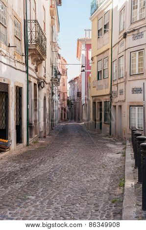 Narrow Street Of Coimbra