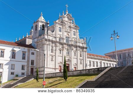 The New Cathedral Of Coimbra