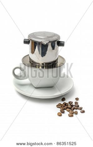 Vietnamese Coffee Brewing Method