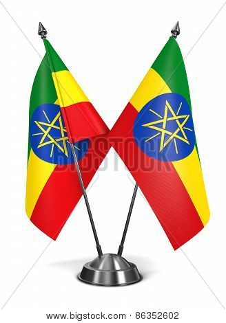 Ethiopia - Miniature Flags.