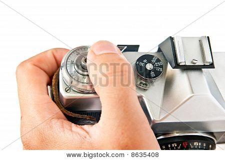 Camera And Hand