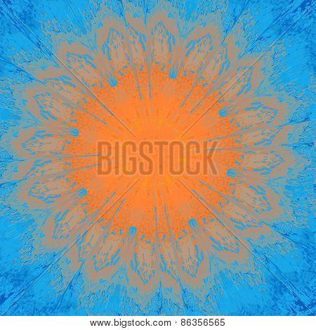 Seamless kaleidoscopic pattern