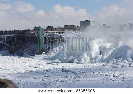 Niagara (American Falls, Ice)