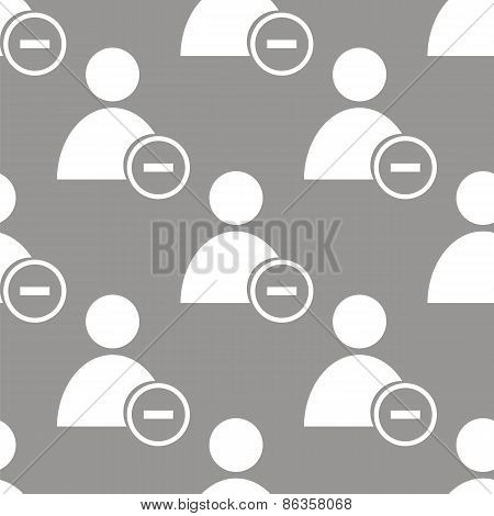 Remove user seamless pattern