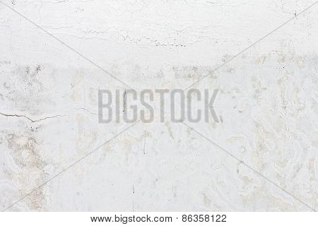 Grungy white background cement old texture wall