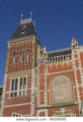 The state museum in Amsterdam