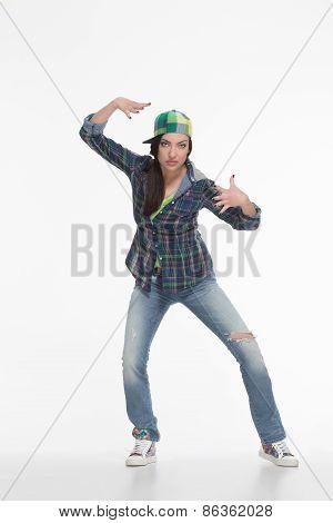 Portrait of street dancer