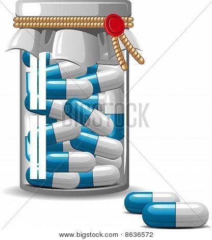 Medical bottle caps