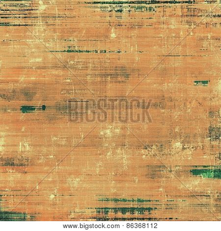 Grunge colorful texture for retro background. With different color patterns: yellow (beige); brown; green