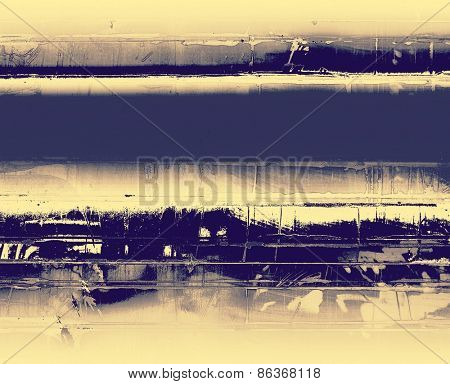 Beautiful antique vintage background. With different color patterns: yellow (beige); gray; blue