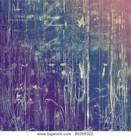 Vintage texture with space for text or image. With different color patterns: purple (violet); blue; pink