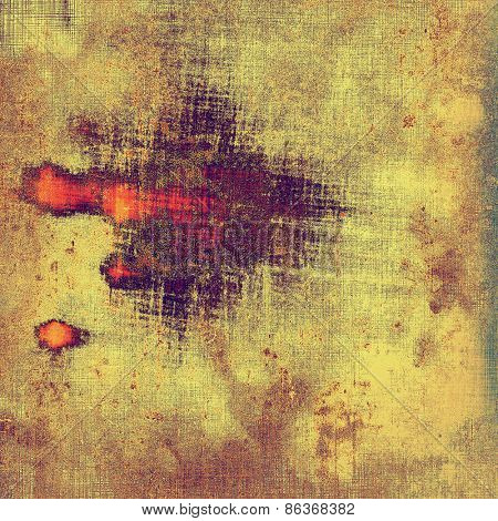 Antique grunge background with space for text or image. With different color patterns: yellow (beige); brown; purple (violet)