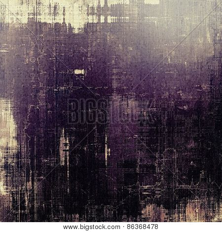 Old texture - ancient background with space for text. With different color patterns: gray; purple (violet); black