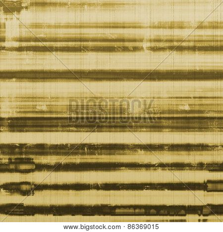 Aging grunge texture designed as abstract old background. With different color patterns: yellow (beige); brown; gray