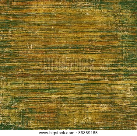 Old texture with delicate abstract pattern as grunge background. With different color patterns: yellow (beige); brown; green