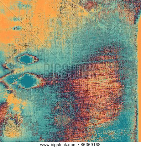 Grunge colorful background or old texture for creative design work. With different color patterns: yellow (beige); purple (violet); blue