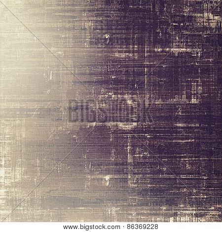 Old grunge background with delicate abstract texture and different color patterns: gray; purple (violet)