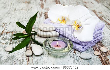 Orchids Spa Background
