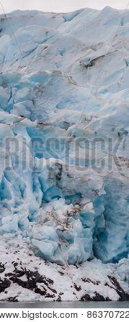 Wide Glacier Face
