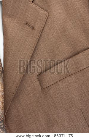 Pocket And Collar Jacket Close-up