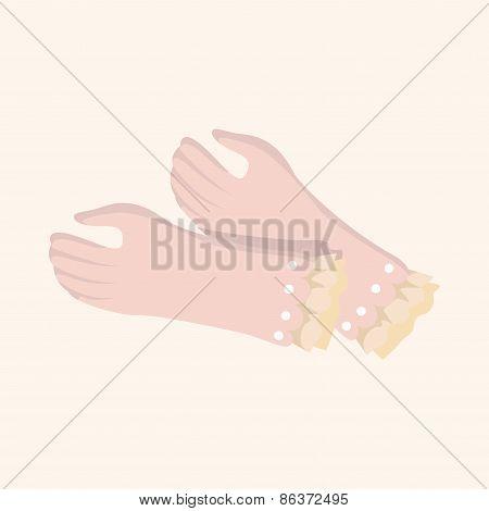 Bride Gloves Theme Elements