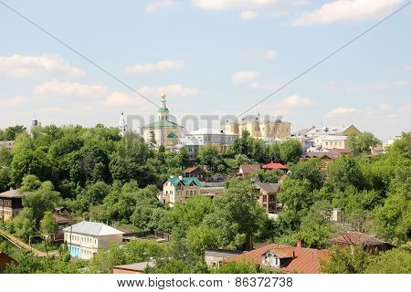 Residential area of Vladimir