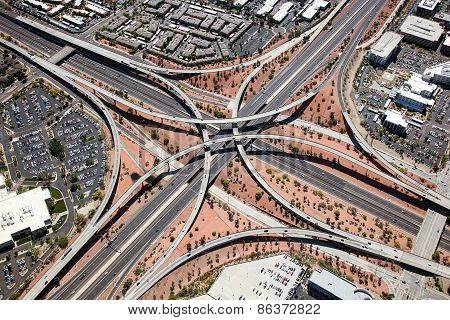Loop 101 & I-17 Interchange