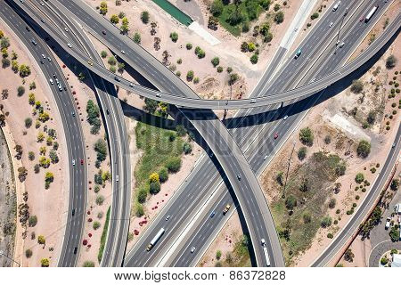 Raised Interstate Interchange