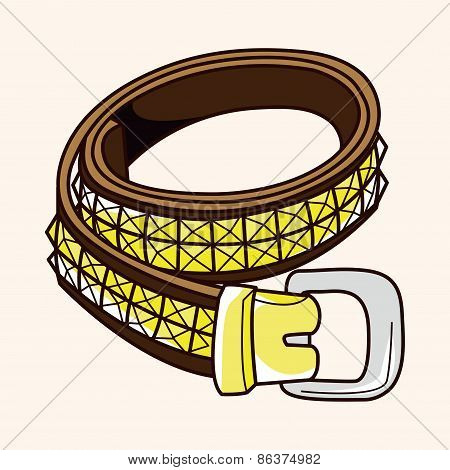 Rock Style Belt Theme Elements