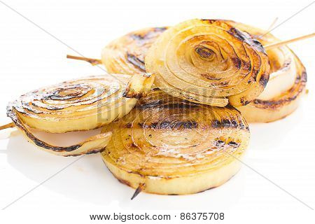 Caramelised Onions, Cooked With Balsamic Vinegar And Brown Sugar.